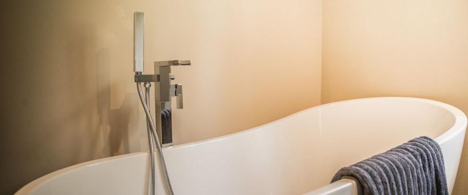 Full size bath holiday house Wye Valley