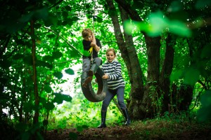 Fun for the kids glamping Wales