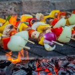 Outdoor cooking glamping site Wales