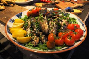 Infamous Catering hire your own private chef at Hidden Valley Yurts