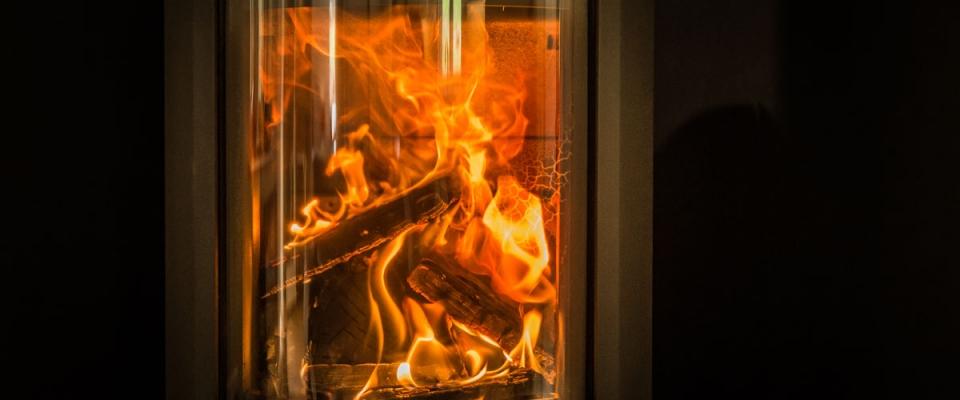 Log burner year round holiday accommodation Wye Valley