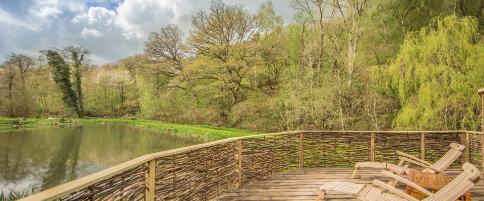 The Lake House at Hidden Valley Yurts Wye Valley