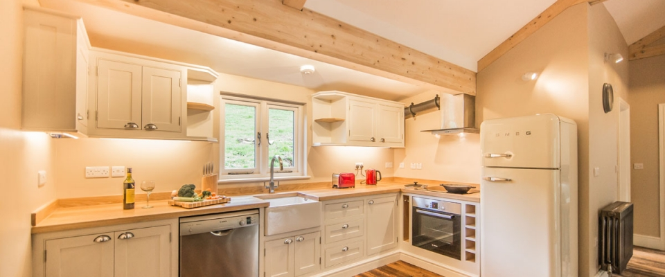 Well equipped kitchen with dishwasher holiday home