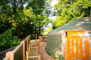 Come glamping in Wales at Hidden Valley Yurts