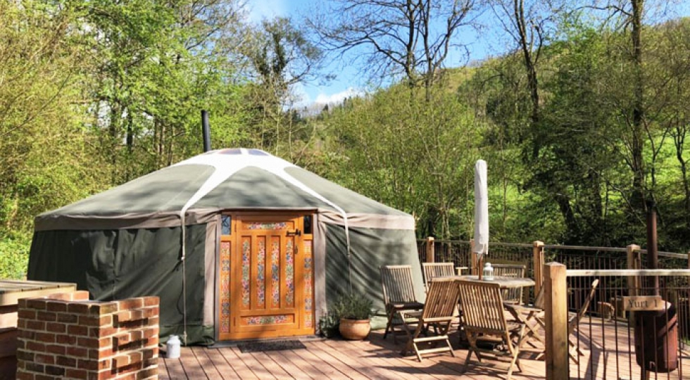 Yurt 1 Mongolian Yurt Wales