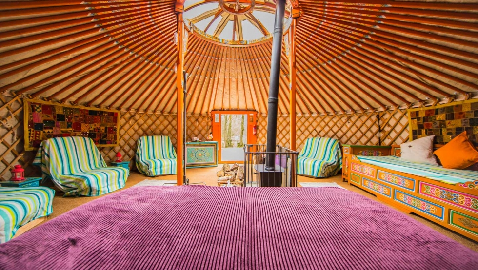 & Glamping in South Wales - Hidden Valley Yurts