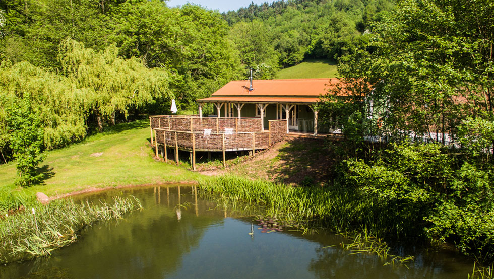 Lake House Holiday Cottage Wye Valley Wales