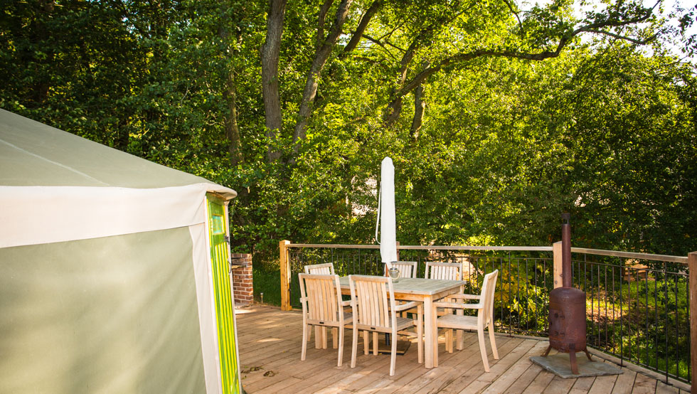 Glamping South Wales at Hidden Valley Yurts