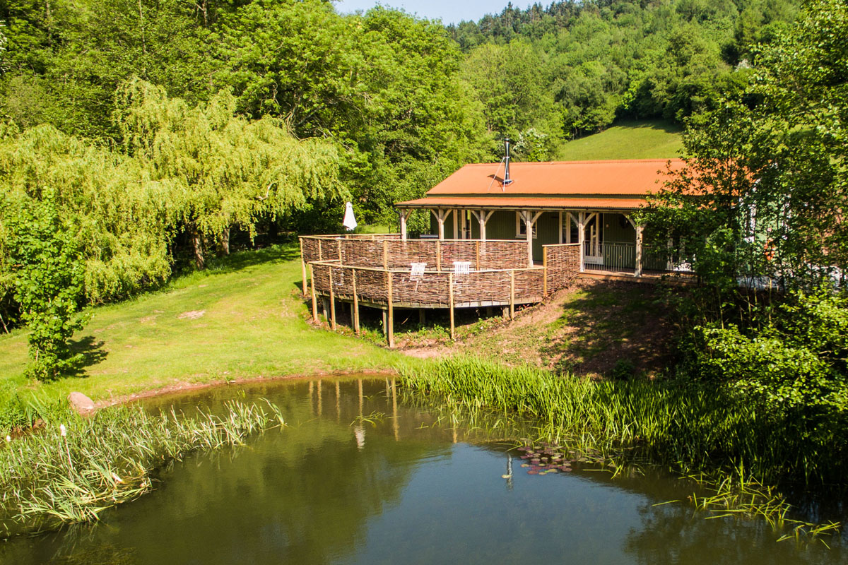 The lake house self catering holiday home monmouthshire