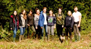 Wildlife holiday Wye Valley South Wales students ecology